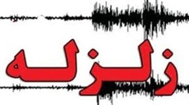 زلزله 4.1 ریشتری در تازه آباد
