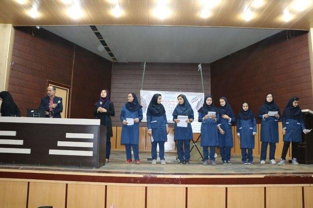 نخستین جشنواره مجریان و گویندگان مدارس گرگان برگزار گردید