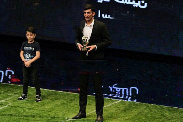 علیرضا بیرانوند: خوشحالم که مرد سال فوتبال ایران شدم
