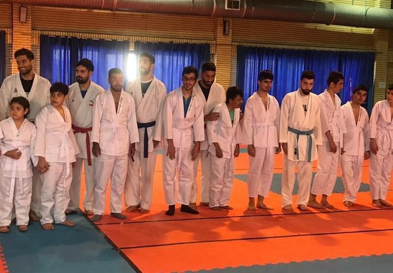 میزبانی ملی پوشان کاراته از بچه ها اوتیسم