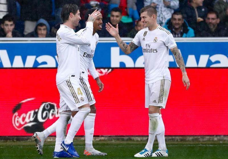 لالیگا، رئال مادرید با گلزنی مدافعانش به صدر جدول رسید
