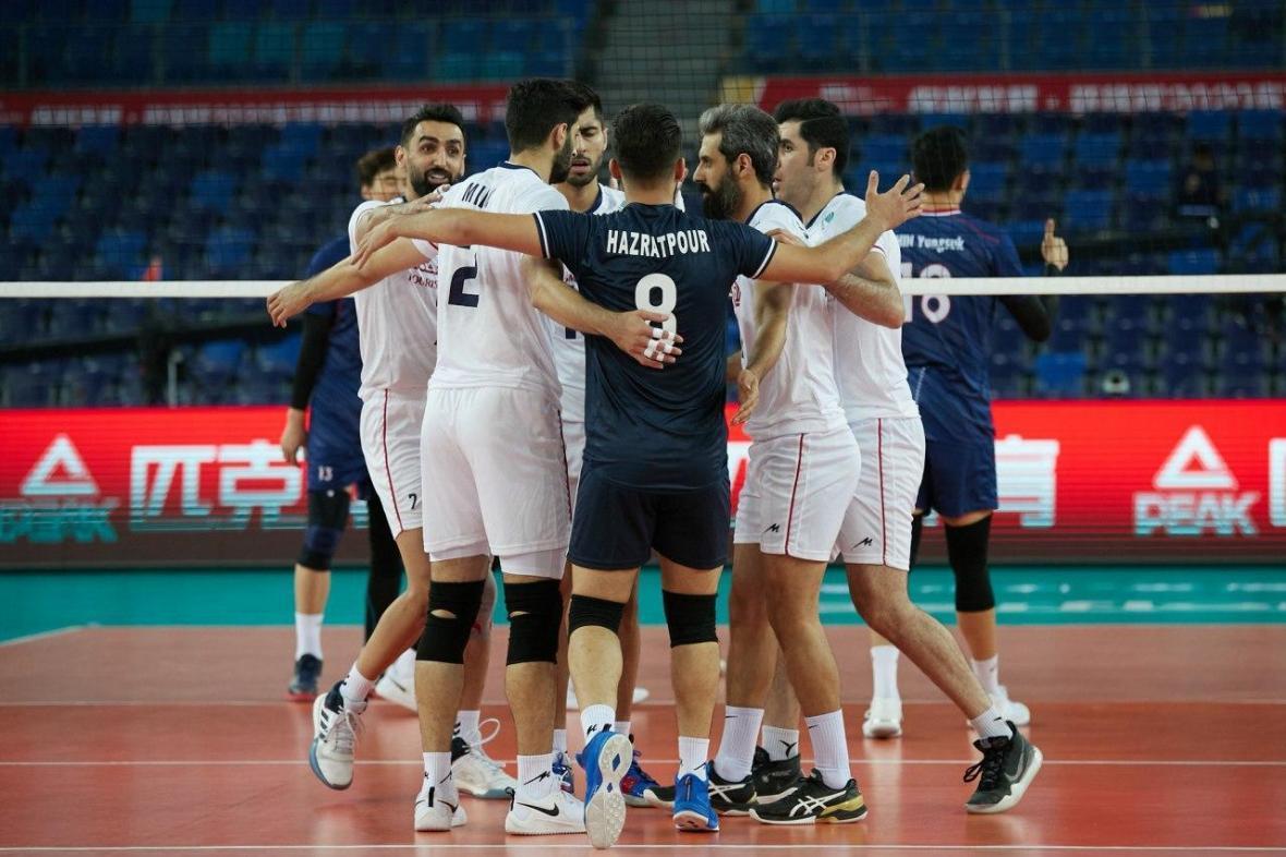 والیبال انتخابی المپیک، پیروزی نفس گیر سروقامتان ایران برابر کره جنوبی