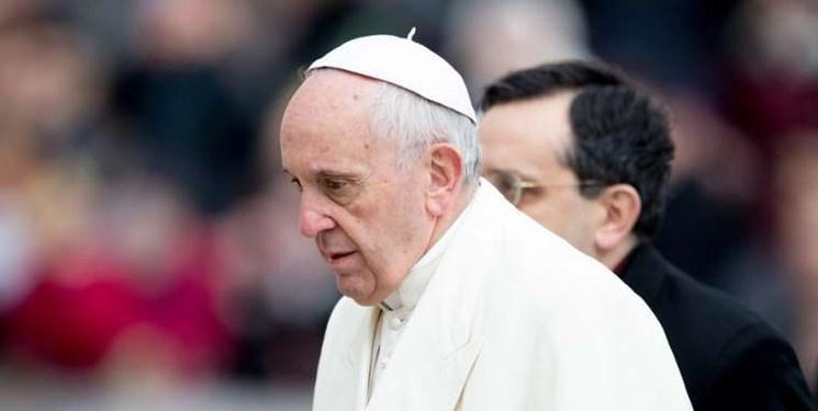 واتیکان: پاپ به دلیل کسالت جزئی شرکت در مراسمی را لغو کرد