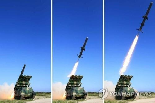 کره شمالی اوایل ژوئیه یک موشک کروز ضد کشتی آزمایش کرد