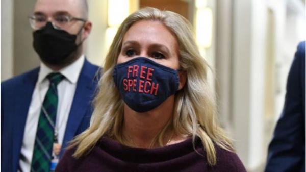 اخراج قانونگذار زن جنجالی طرفدار ترامپ از 2 کمیته کنگره!