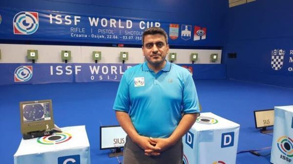مسابقات تیراندازی جام دنیای کرواسی، فروغی قهرمان دنیا شد